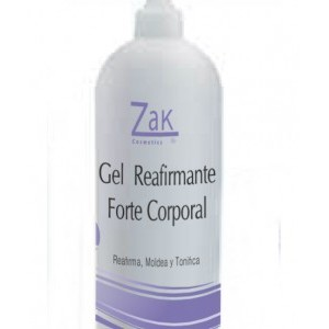GEL REAFIRMANTE FORTE 1000 ml. ZAK COSMETICS