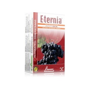 ETERNIA RESVERATROL 45 CAPS. DRASANVI
